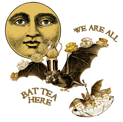 Orange Moon Tea Society - Tea Bats