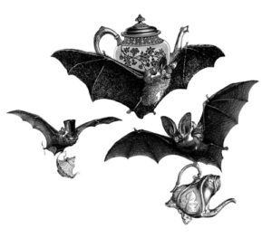 The Orange Moon Tea Society Tea Bats