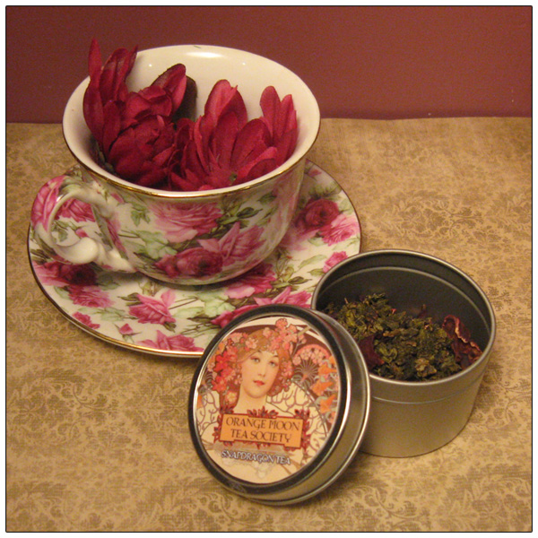 Orange Moon Tea Society - Snapdragon Tea